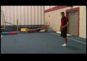Competitive Gymnastics Tips : 'The X-Out' Gymnastics Tumble
