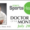 Doctor of the Month – Stephen A. Hunt, MD