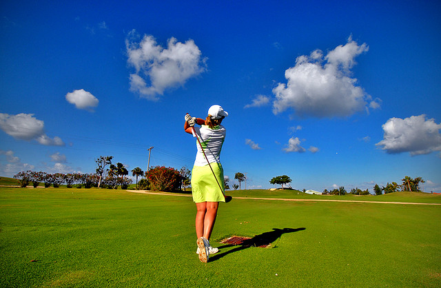 Grand Cayman Golf by Fevi Yu